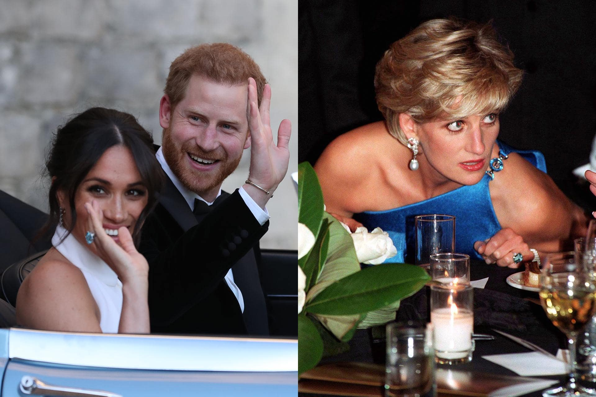story of princess diana s ring worn by meghan markle on wedding day revealed timelinesuit